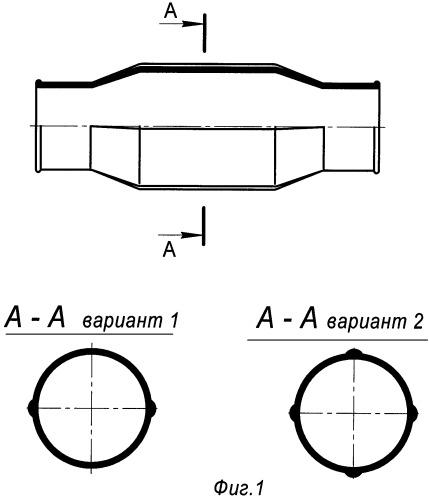 Диафрагма с конусно-цилиндрическими горловинами, способ и пресс-форма для ее изготовления