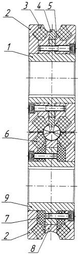 Валковый калибр стана для производства сварных прямошовных труб