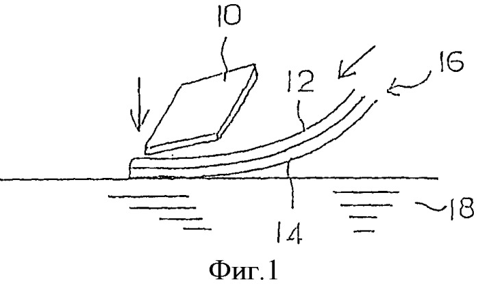 Способ переноса под давлением воды и изделие, полученное переносом под давлением воды