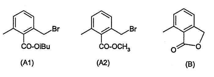 Синтез эфиров 2-хлорметил-6-метилбензойной кислоты