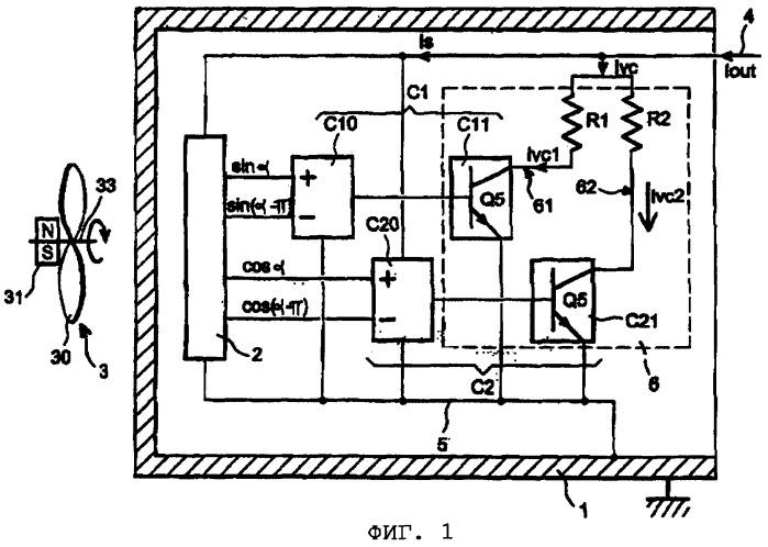 Компактное устройство для измерения скорости и направления вращения объекта и магнитная система для сбора данных