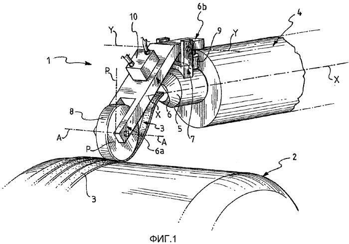 Способ и устройство для регулирования процесса изготовления элементов шины для колес транспортных средств