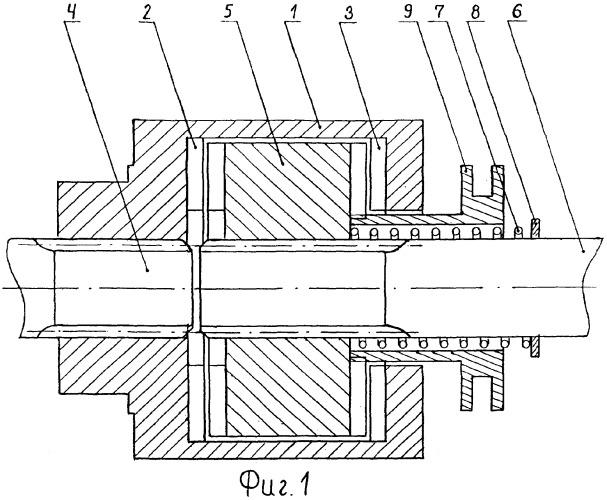 Автоматическая самоблокирующая обгонная муфта для односторонней передачи реверсивного крутящего момента