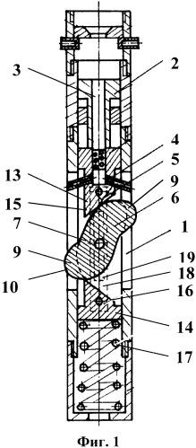 Перфоратор гидромеханический щелевой режущего действия