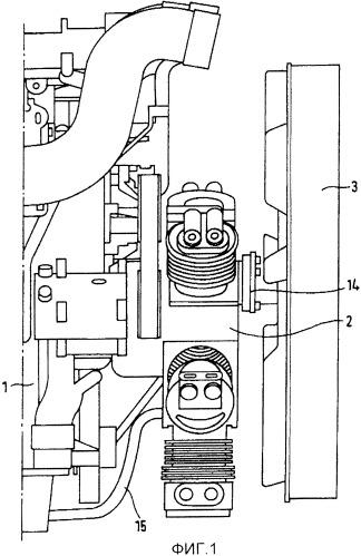 Оснащенный наддувом двигатель внутреннего сгорания с расширительным устройством в контуре для рекуперации тепла