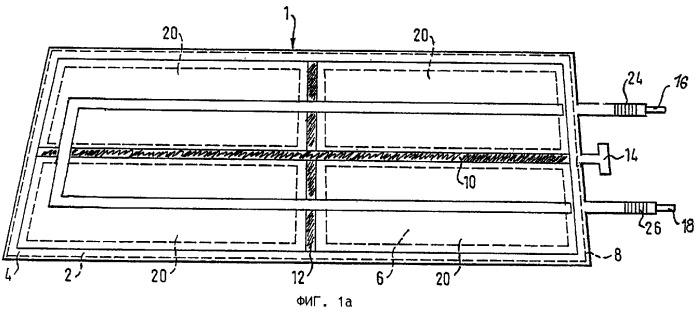 Вакуумируемый плоский солнечный коллектор и способ его изготовления