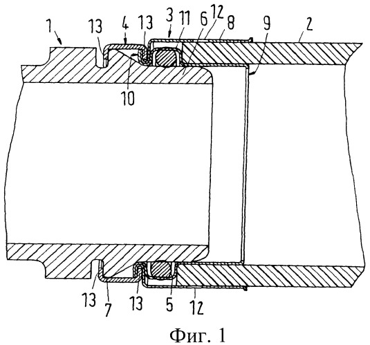 Вставное соединительное устройство для шланга и трубы