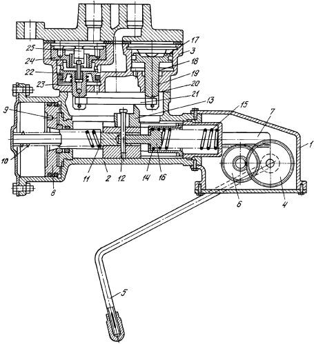 Автоматический регулятор режимов торможения транспортного средства подвижного состава железных дорог