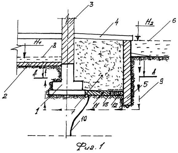 Способ защиты грунтовых оснований зданий от суффозионных процессов