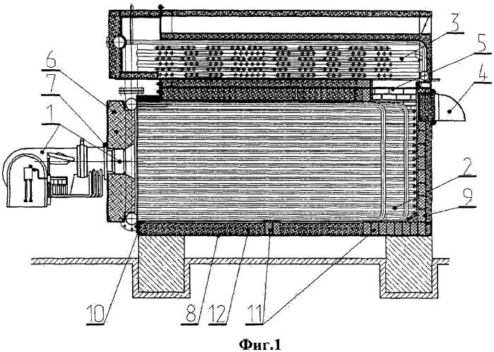 Водогрейный газовый котел
