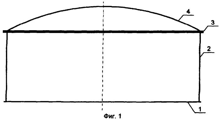 Металлический сетчатый купол резервуара для хранения нефти или нефтепродуктов