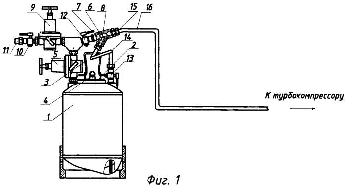 Устройство для очистки лабиринтных уплотнений турбокомпрессоров тепловозных дизелей