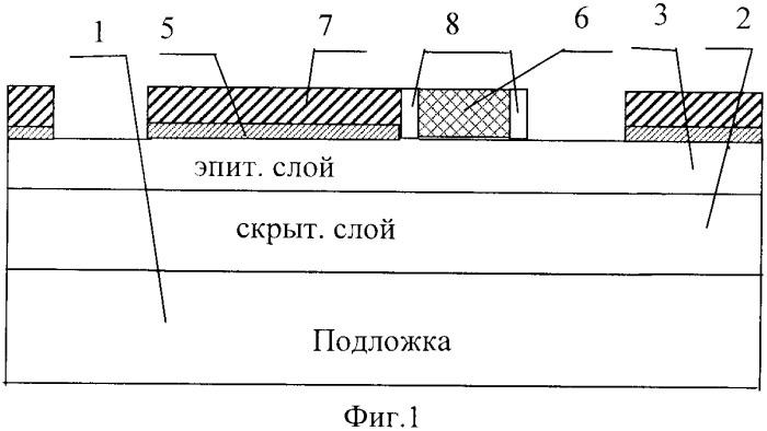 Способ самосовмещенного формирования изоляции элементов интегральных микросхем и поликремниевых контактов к подложке и скрытому слою