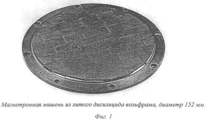 Способ производства распыляемых мишеней из литых дисилицидов тугоплавких металлов и устройство для его реализации