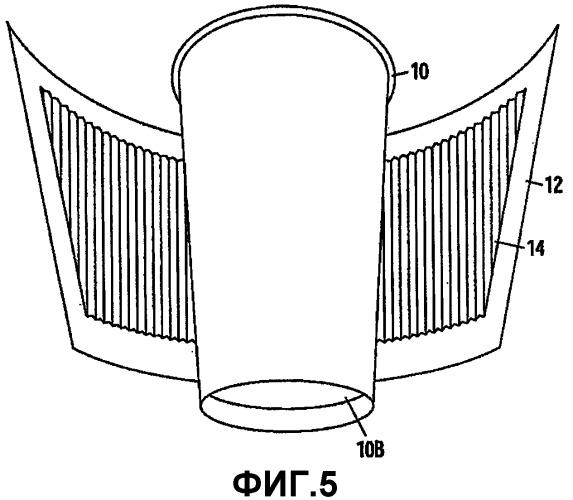 Термоизоляционная обертка стакана и термоизолированная емкость с такой оберткой