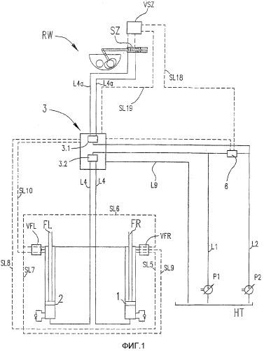 Приводное устройство для двухцилиндрового насоса для материалов высокой плотности и способ его работы
