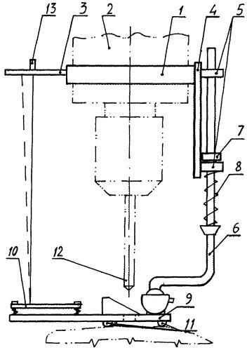 Ориентирующая насадка к переносному оборудованию