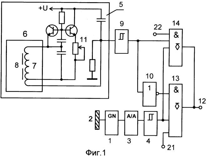 Многофункциональный датчик контроля изделий