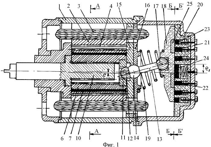 Планетарный электромотор-редуктор с управляемым коллектором