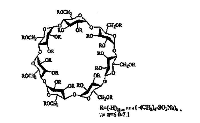 Капсулы, содержащие водные наполняющие композиции, стабилизированные производным циклодекстрина