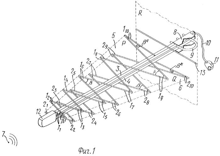 Логопериодическая антенна для т2 своими руками 96