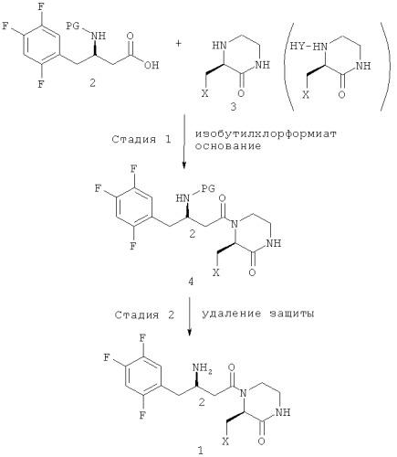 схеме реакции 3,