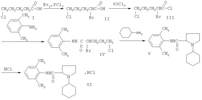 Синтез 2,6-диметиланилида
