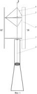 Вертикально-осьова вітроустановка