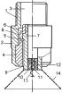Форсунка з завихрювач подвійний крутки потоку