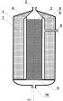 Реактор для парціального окислення вуглеводневих газів