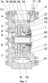 Насос відцентровий двоступінчастий з взаємно розгорнутими колесами