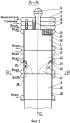 Спосіб одержання високотемпературного парогаза в рідинному ракетний парогазогенераторе