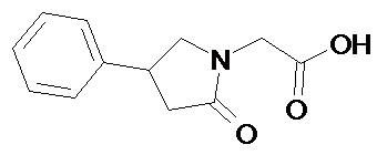 N карбамоилметил 4 фенил 2 пирролидон